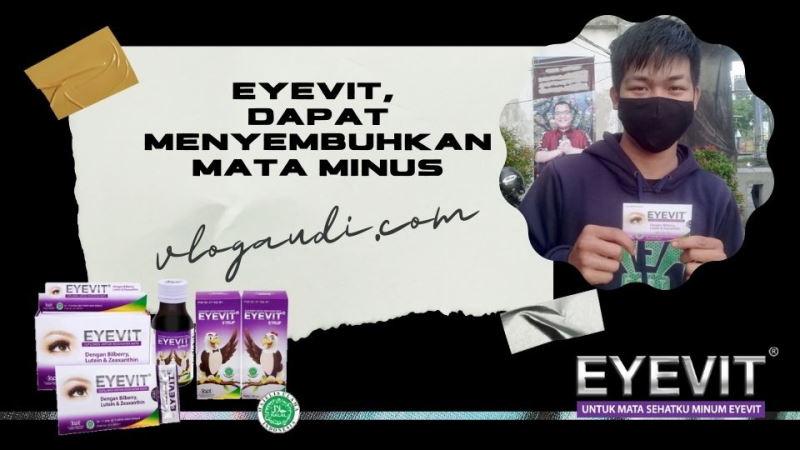 Eyevit, dapat Menyembuhkan Mata Minus