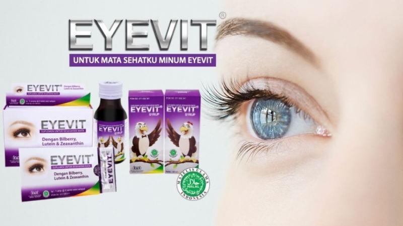 Kegunaan Eyevit untuk mata