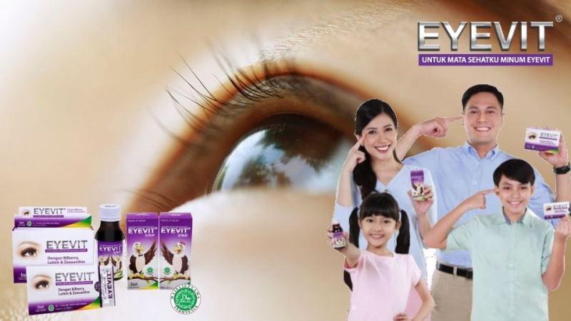 Keluarga Bahagia Selalu Konsumsi Vitamin Mata Eyevit