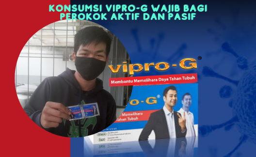 Konsumsi Vipro-G Wajib bagi Perokok Aktif dan Pasif